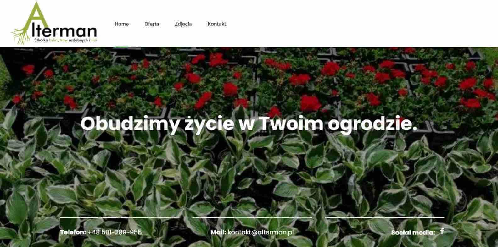 01_Home - Alterman - Szkółka bylin, traw ozdobnych i ziół